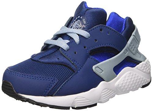 Nike Huarache Run Ps, Scarpe da Corsa Bambino Multicolore (Coastal Blue/Blue Grey/Hyper Cobalt)