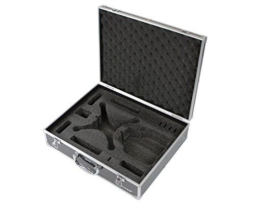 HMF 18301-02 Transportkoffer, Koffer passend für X5C , X5SC , X5 Syma Drohne, bis zu 5 Akkus, 42,5 x 33,5 x 11,5 cm, schwarz - 6
