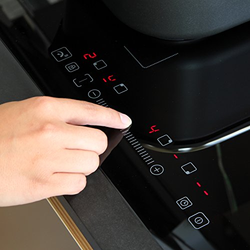 Induktionskochfeld 59 cm autark Flex-Zone Booster Touch Slider LED-Anzeige KKT KOLBE