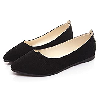 Clearance Sale!OverDose Women's Flats Ladies Comfy Shoes Soft Slip-On Casual Boat Shoes