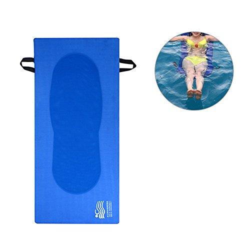 Schwimmbad Schwimmende Lounge Bett, Wasser Hängematte Pool Liege ohne aufblasbar, schnell trocknend, perfekt für Sommer Schwimmen -
