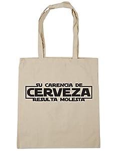 franquicias comida: HippoWarehouse SU CARENCIA DE CERVEZA RESULTA MOLESTA Bolso de Playa Bolsa Compr...