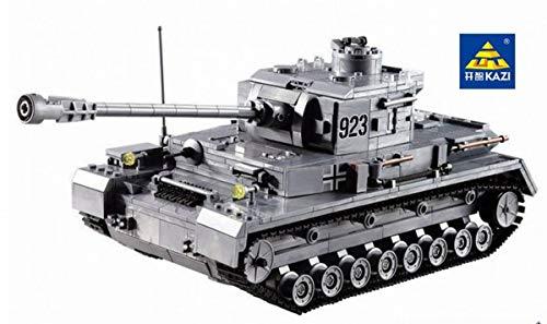 KAZI Tanque alemán WW2 Building Bricks Guerra Tanque