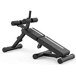 Hammer Banc de Musculation réglable - Utilitaires Bancs de Musculation for l'entraînement Complet du Corps, Pliable à Plat/Inclinaison/Déclin, Multifonctions Supination Conseil Sit-ups Poitrine Mu