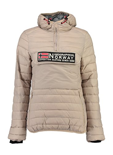 Geographical Norway - Doudoune Femme Geographical Norway Désiré Beige-Taille - 5
