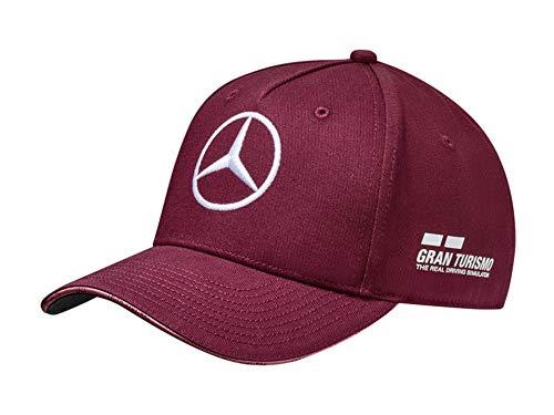 Original Mercedes-Benz Cap Special Edition Singapur, Hamilton, weinrot