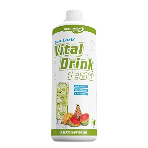 Best Body Nutrition Low Carb Vital Drink Bebida Concentrada - 1000 ml