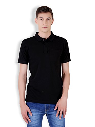 Tapasya Black Polo T-Shirt