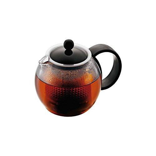Bodum Assam Tee Presse-Schwarz-0,5l, 17oz (4Stück) (Bodum Grill)