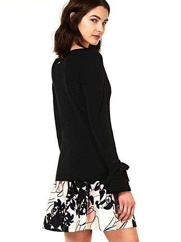 Liu Jo M18024MA36A T-Shirt Femmes Noir