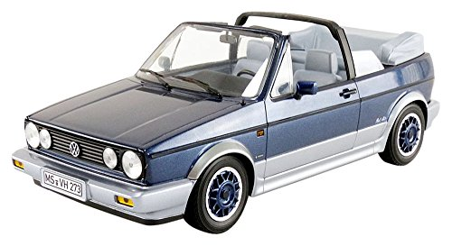 87585a853808 Norev  1 18 1992 Volkswagen Golf Cabriolet – Azul metálico – NV188404