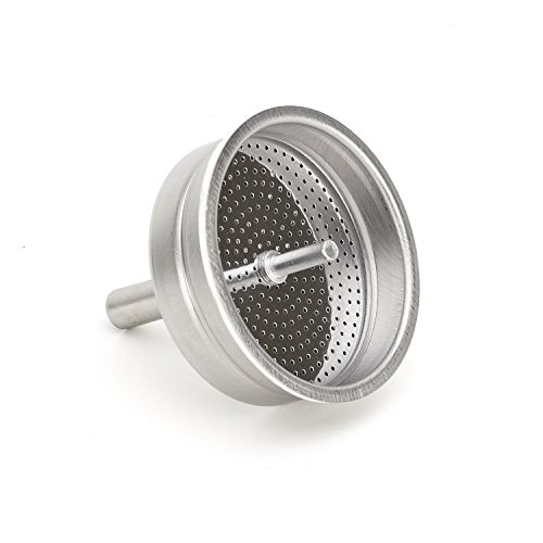 Bialetti - Spare Filter Basket/Funnel - Replacement Part Suitable for Mukka Express Coffee Maker - 2 Cups