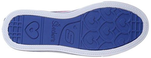 Skechers Step Up, Sneakers Basses Fille Bleu (Blnp)