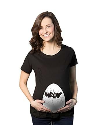 missfox top shirt hatching egg de grossesse motif humour imprim femme v tements. Black Bedroom Furniture Sets. Home Design Ideas