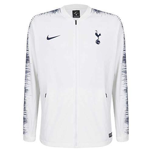 Nike THFC M NK ANTHM FB JKT Chaqueta Tottenham Hotspur Football Club, Hombre, (White Binary Blue), M