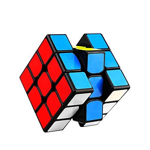 Nomisty Speed Cube,Cube Magique 3x3x3 de Vitesse Magique Lisse Facile à Tourner pour Jeu d'entraînement Cérébral ou Cadeau de Vacances