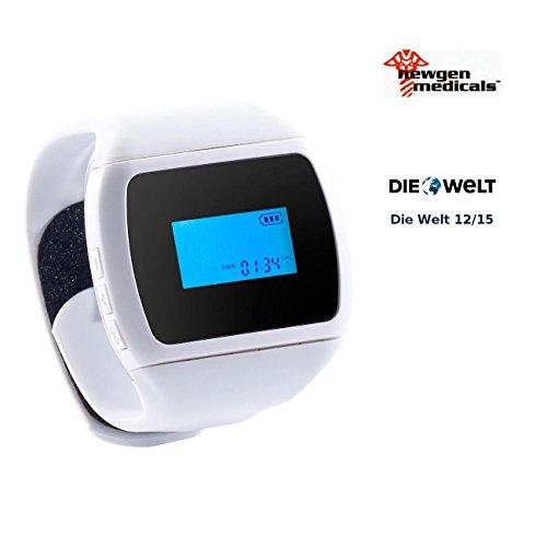 newgen medicals Schnarch-Stopper: Schnarchstopper-Uhr mit Kontaktgel (Anti-Schnarch-Uhr)