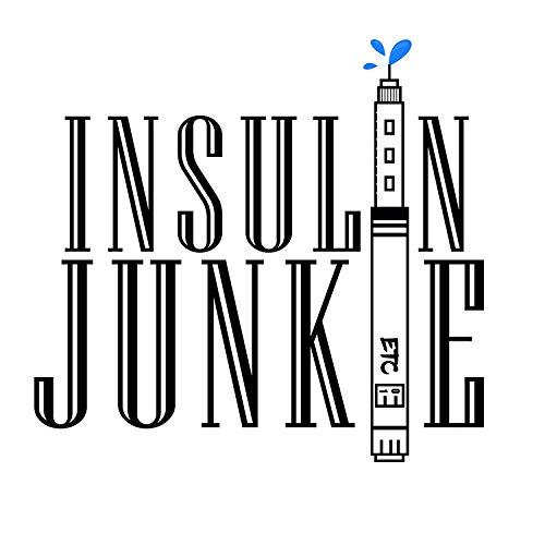 "Vinyl-Aufkleber\""Insulin Junkie\"""