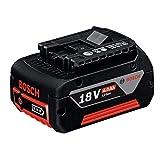 Bosch Professional GBA 18V 4.0Ah - Batería de litio (1 batería x 4.0 Ah, 18V)