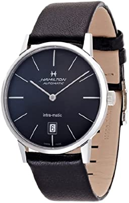 Hamilton Men's Analogue Automatic Watch with Leather Strap H38455731