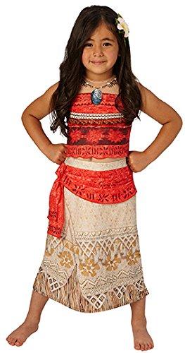 Rubies 3630512 - Vaiana Deluxe - Child, Verkleiden und Kostüme, M