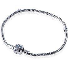 18-20 cm Aituo de plata del encanto de la pulsera de estilo Pandora encanto europeo de regalo