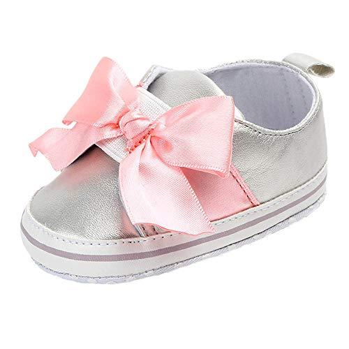 a2486bf87 ZODOF Bebé Niños Zapatos Lindos Bebé Lindo bebé recién Nacido Infantil bebé  Arco Casual Primer Walker