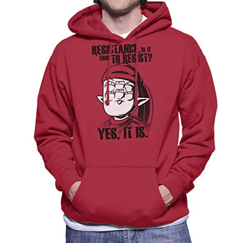 Alien Che Time to Resist Men\'s Hooded Sweatshirt