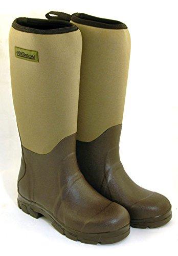 Bison NEOPRENE WELLINGTON MUCK BOOTS - 4188p1 2BlHZL - Bison NEOPRENE WELLINGTON MUCK BOOTS