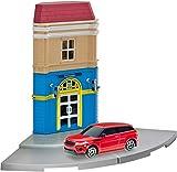 Herpa 800099 City: Hotelgebäude mit Porsche