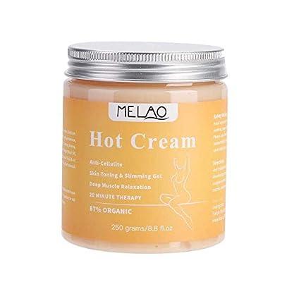 MQUPIN Cellulite Cream - 250g Body Slimming Firming Cream Fat Burner Hot Cream for Tightening Skin Body Shaper from MQUPIN