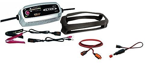 CTEK MXS 5.0 Autobatterie-Ladegerät mit automatischem Temperaturausgleich, 12 V kompletter