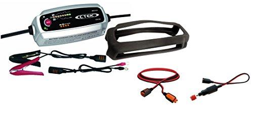Preisvergleich Produktbild CTEK MXS 5.0 Autobatterie-Ladegerät mit automatischem Temperaturausgleich, 12 V kompletter Fahrzeugsatz
