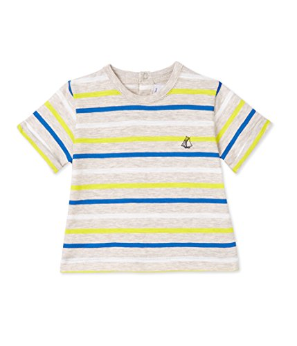 Petit Bateau Baby-Jungen T-Shirt MC_24596, Mehrfarbig (Creamy/Multico 08), 68 (Herstellerg Preisvergleich