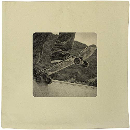 Stamp Press 40cm x 40cm 'Skateboard' Canvas Cushion Cover (CV00004053)