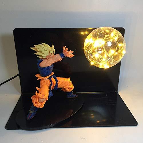 Dragon Ball Z Lámpara Goku modelo Lámpara mesa DBZ