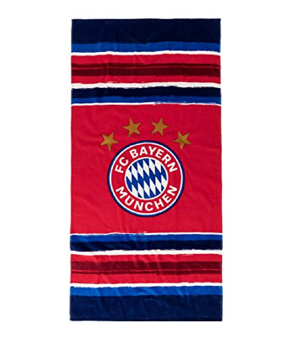 FCB Bayern München Stripes Strandtuch (one Size, Multi)