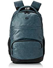 Gear Vintage2 Anti Theft Faux Leather 27 Ltrs Navy Laptop Backpack (LBPVG2LTH0501)