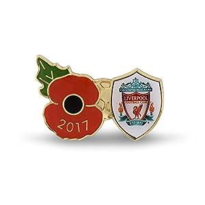 The Royal British Legion Liverpool 2017 Poppy Lapel Pin