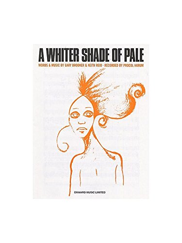 Procol Harum: A Whiter Shade Of Pale. Partitions pour Piano, Chant et Guitare