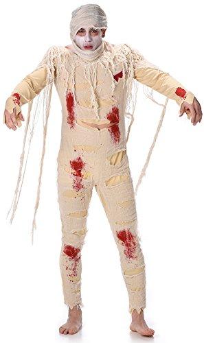 Karnival Costumes  - Ägyptische Mumie Kostüm für Herren Größe XL