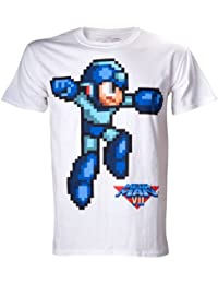 T-Shirt 'Megaman' - White Character - Taille M