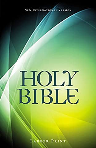 Holy Bible-NIV (Thickers Letters)