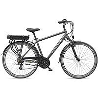 ZÜNDAPP E-Bike Herren Elektrofahrrad Alu, mit 21-Gang Shimano Kettenschaltung, Pedelec Citybike leicht, 250W und 10Ah, 36V Lithium-Ionen-Akku, Green 4.5