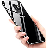 Cover Samsung Galaxy S9 Plus, Mture Galaxy S9 Plus Custodia Caso Silicone TPU Ultra Sottile Anti-Graffio Bumper Case Morbida Copertura Protettiva Cover Case per Samsung Galaxy S9 Plus - Transparent