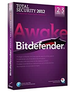Bitdefender Total Security 2012 (3 postes, 2 ans)