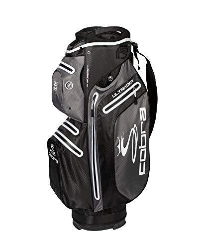 Cobra Golf 2019 UltraDry Cartbag, Herren, UltraDry Cart Bag Ud19, schwarz -