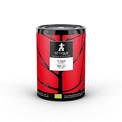 Thé rouge organique Chine Pu Erh, 17 sachets de thé