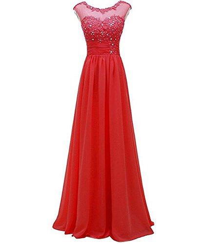 KA Beauty - Robe - Femme red