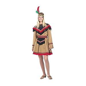 Aptafêtes cu050054/42-44-Disfraz de Indio de América Kiowa para Mujer Talla 42/44